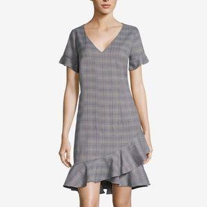 NWT Beige by Eci plaid dress